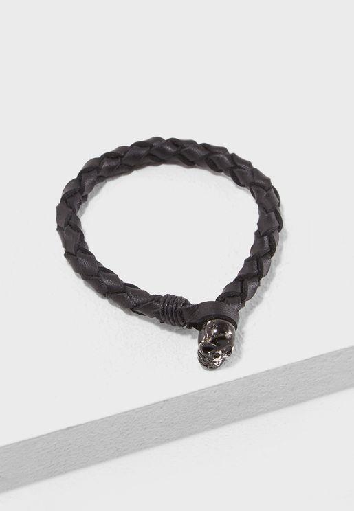 Brushed Leather Bracelet