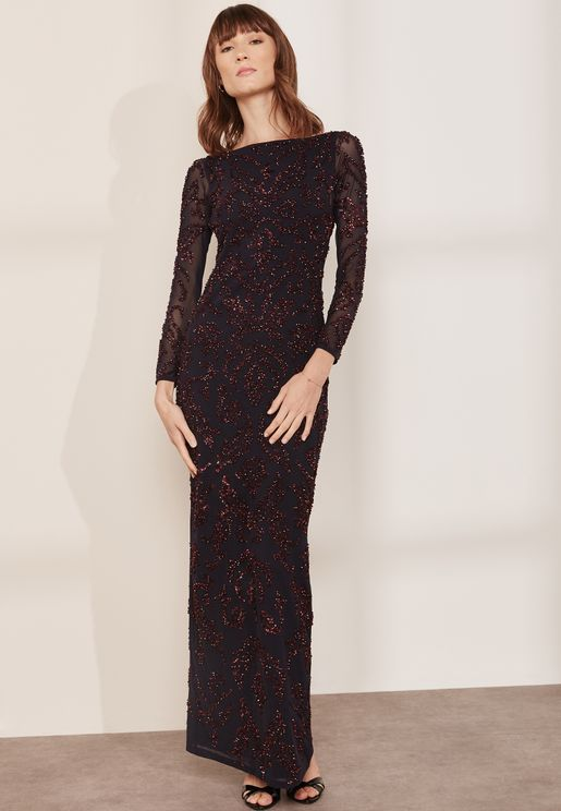 Me Siren Lace Maxi Dress