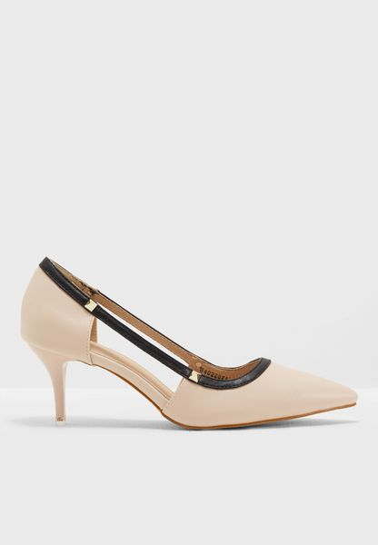 Ava Heeled Pumps