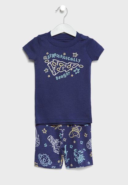 Infant T-Shirt + Pyjamas Set