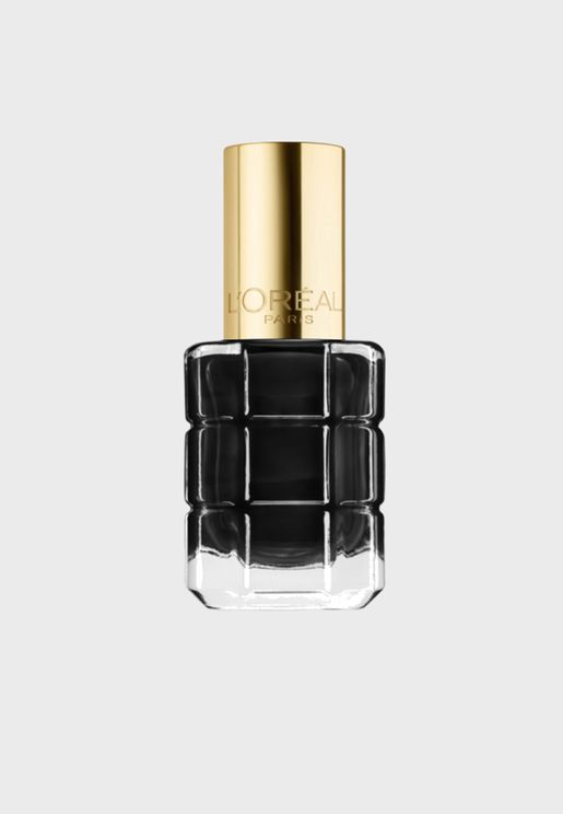 L'Oreal Parish Color Roch l'Huile Nail Polish 674 Noir Noir