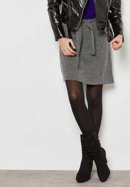 Tie Waist Skirt
