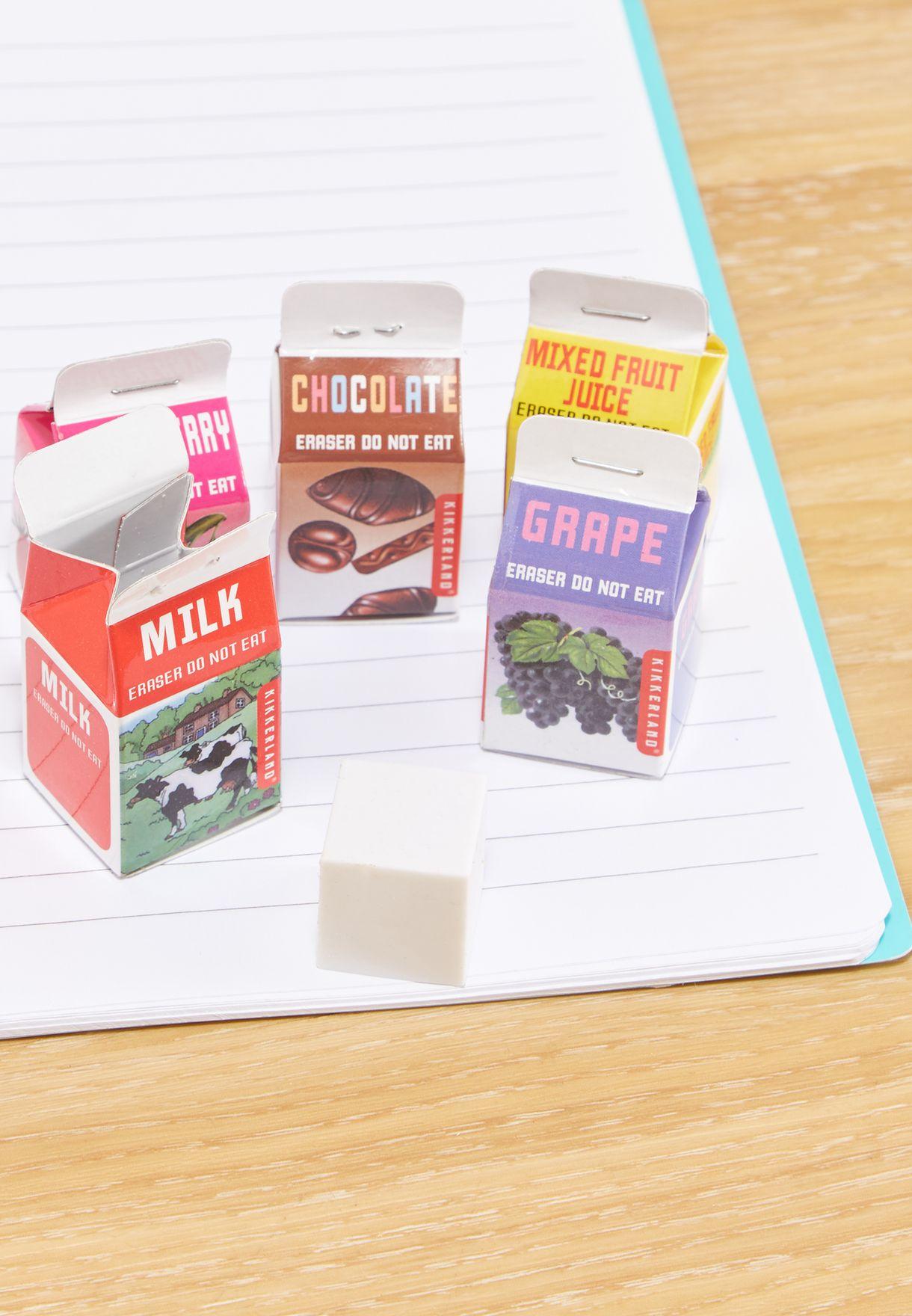 5 Pack Scented Eraser