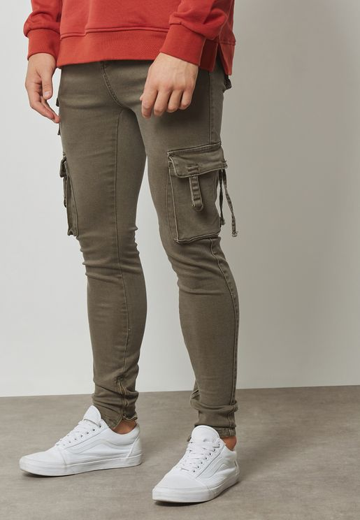 Cargo Straight Fit Pants