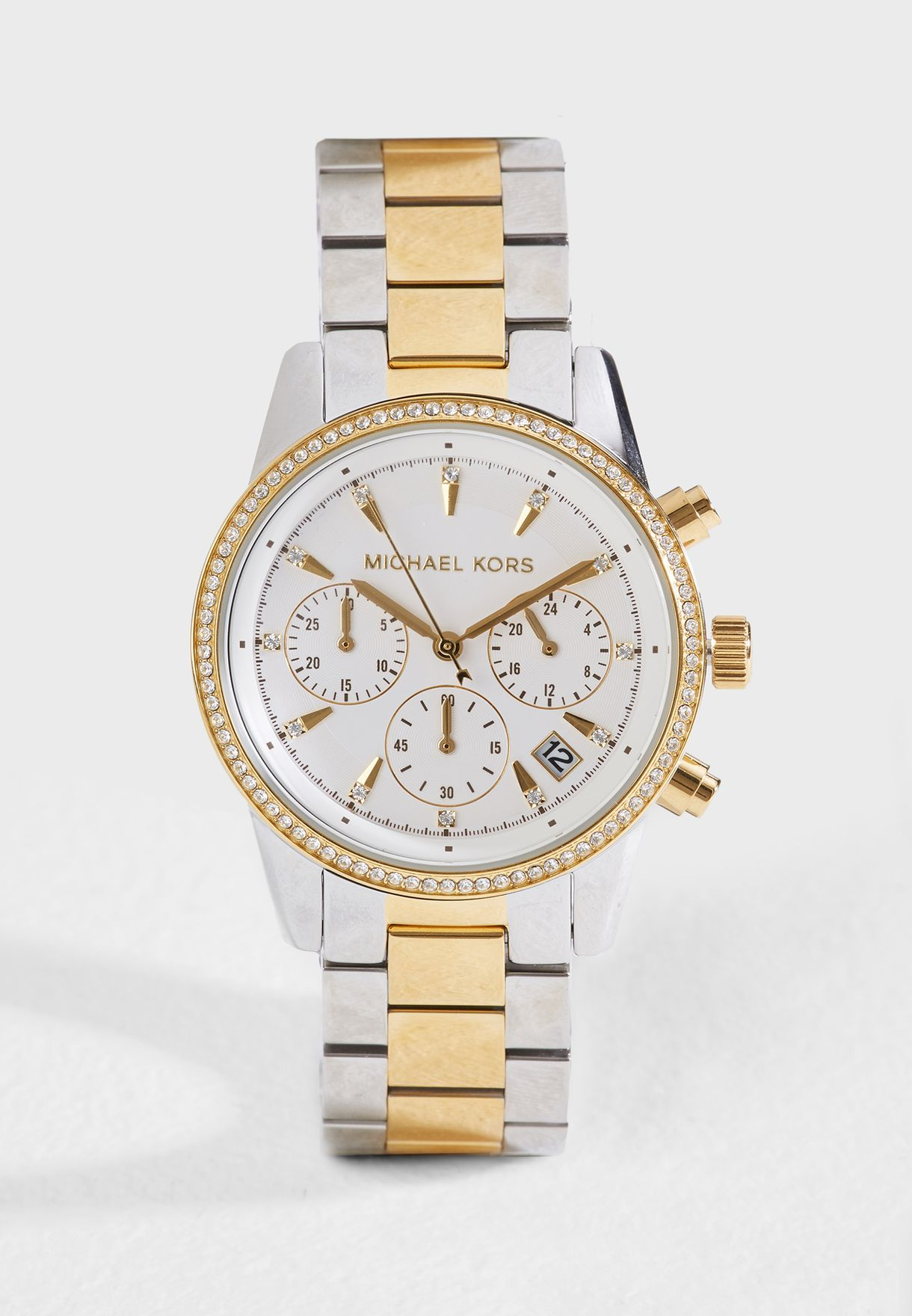 Ritz Two-Tone Chronograph Watch