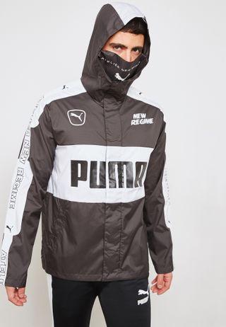 e94de636b2184c Shop Nike white Jordan Diamond Track Jacket AQ2683-100 for Men in ...