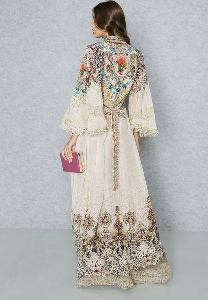 e0d054d6d12 60%OFF Shop Nir Raamyaa prints Digital Printed Kaftan NR179KF01 for Women  in UAE