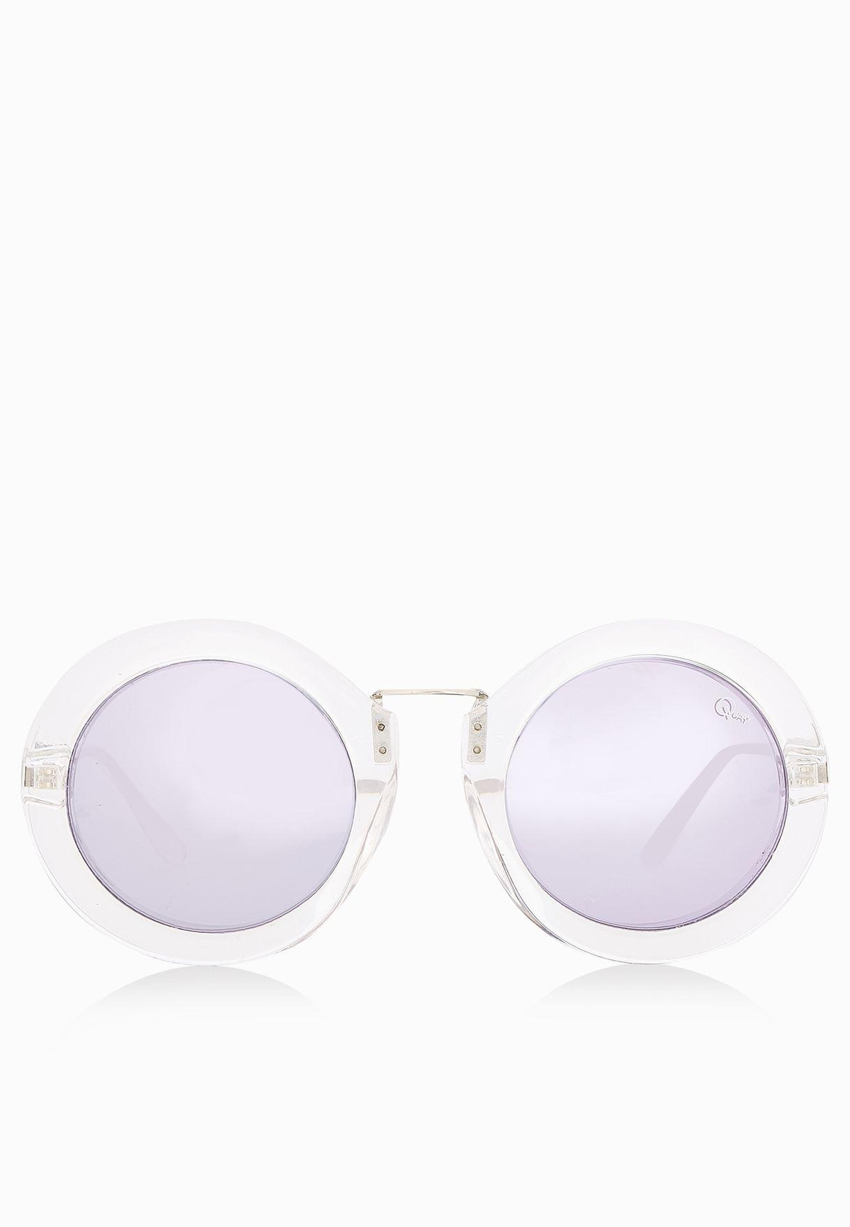 63b782227c Shop Quay Australia white Life In Xanadu Sunglasses for Women in ...