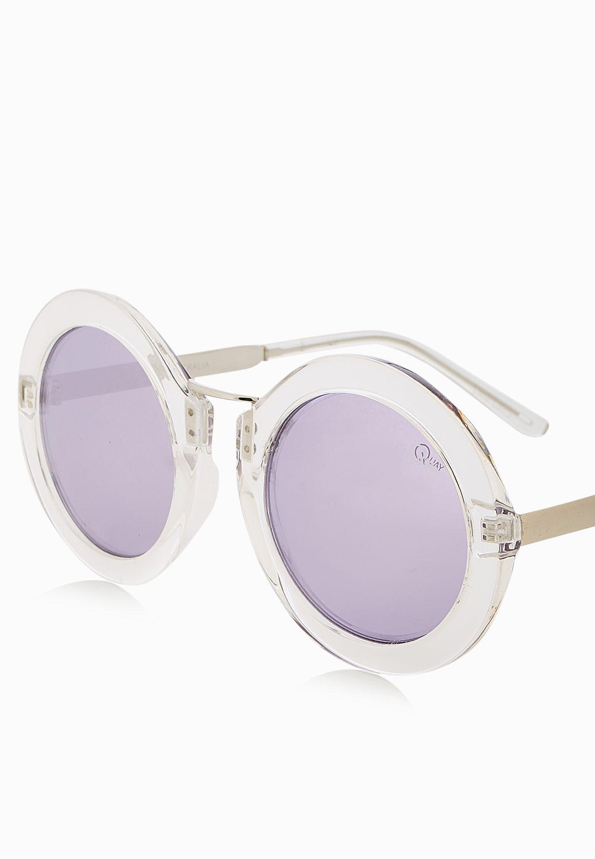 536f0fa638 Shop Quay Australia white Life In Xanadu Sunglasses for Women in UAE ...
