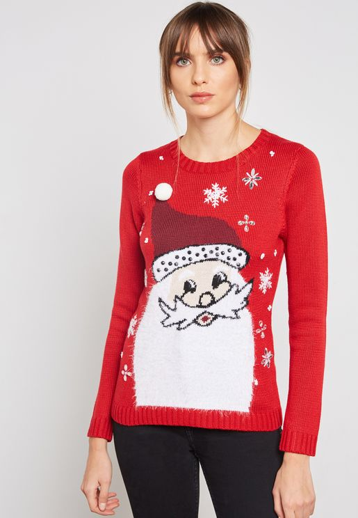 Christmas Santa Jumper