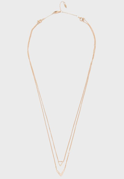 Fossil Duo Necklace