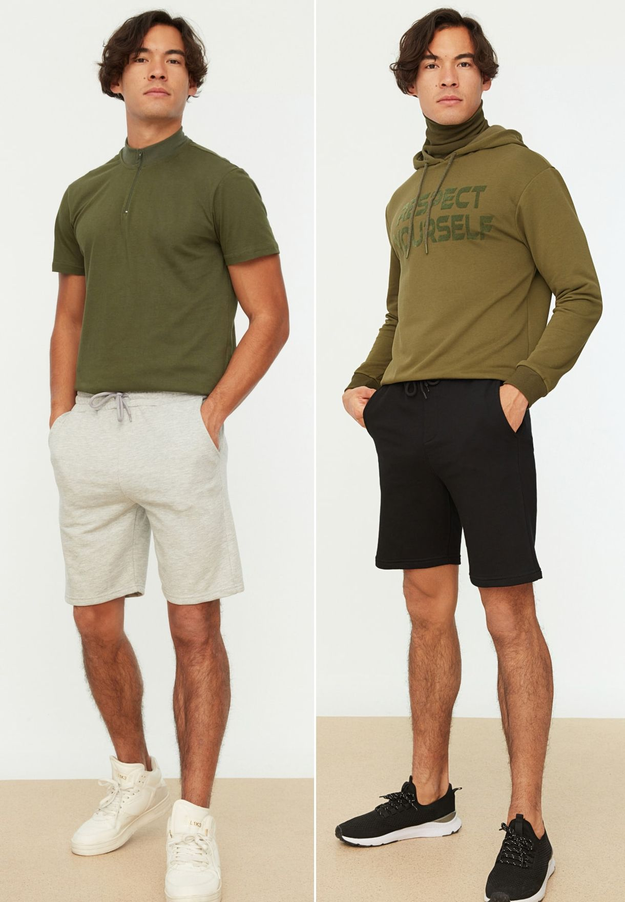 2 Pack Assorted Shorts