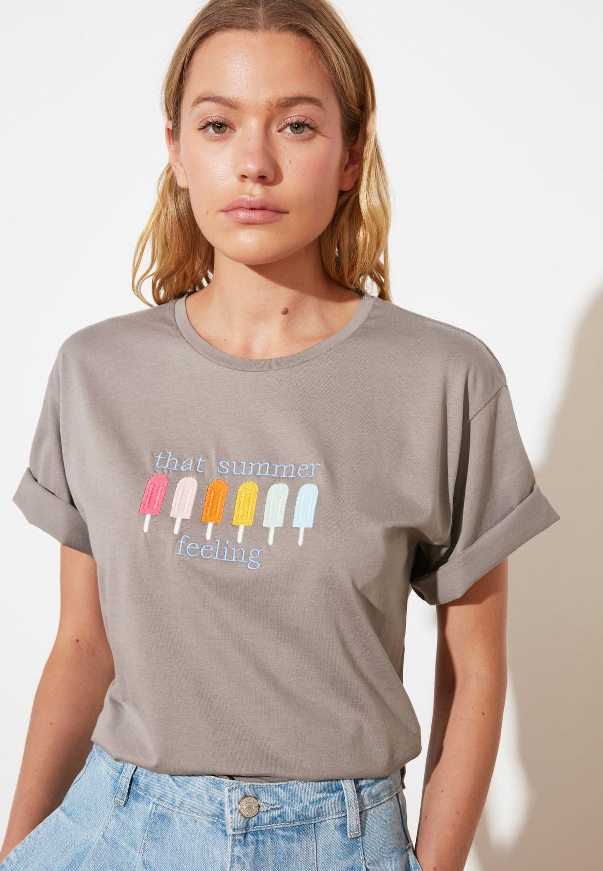 Boyfriend Knitted T-Shirt