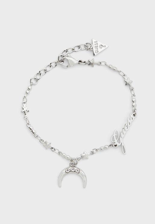 Moon Chain Bracelet
