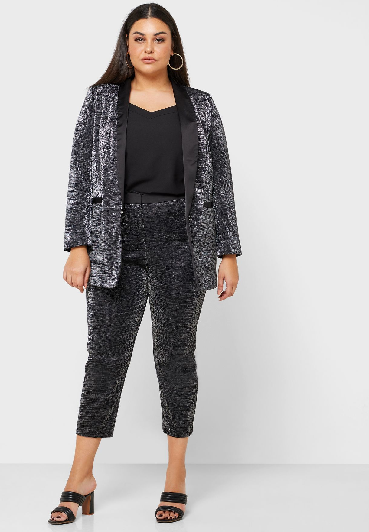 Textured Pants Co-ord