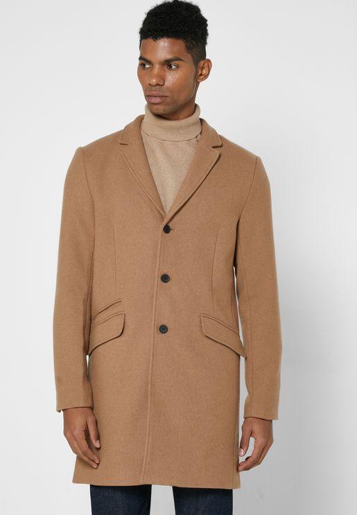 معطف بجيوب متعددة
