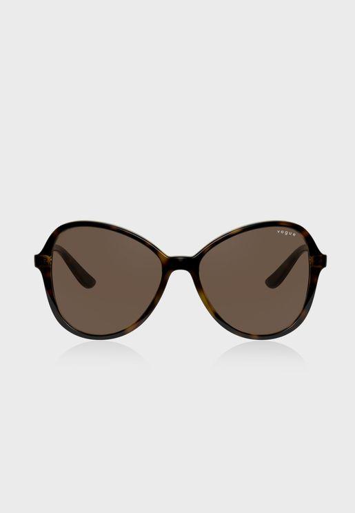 0Vo5349S Oversized Sunglasses