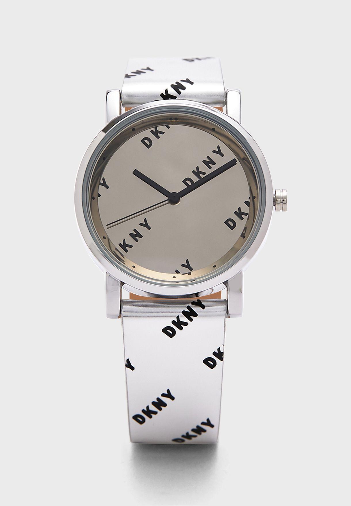ساعة جلد اصلي NY2803