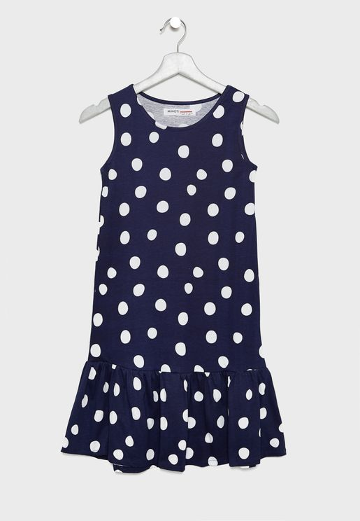 Teen Polka Dot Dress