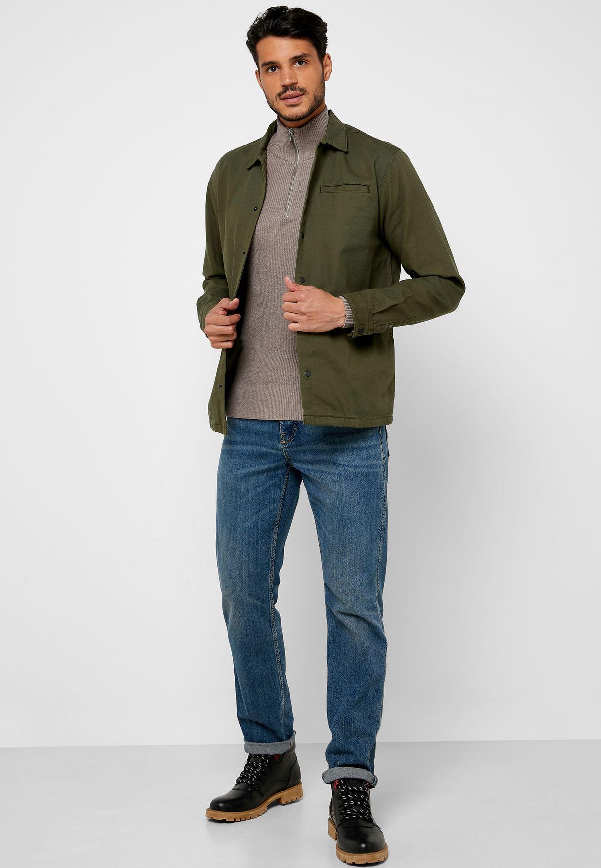 Jesper Turtle Neck Knitted Sweater