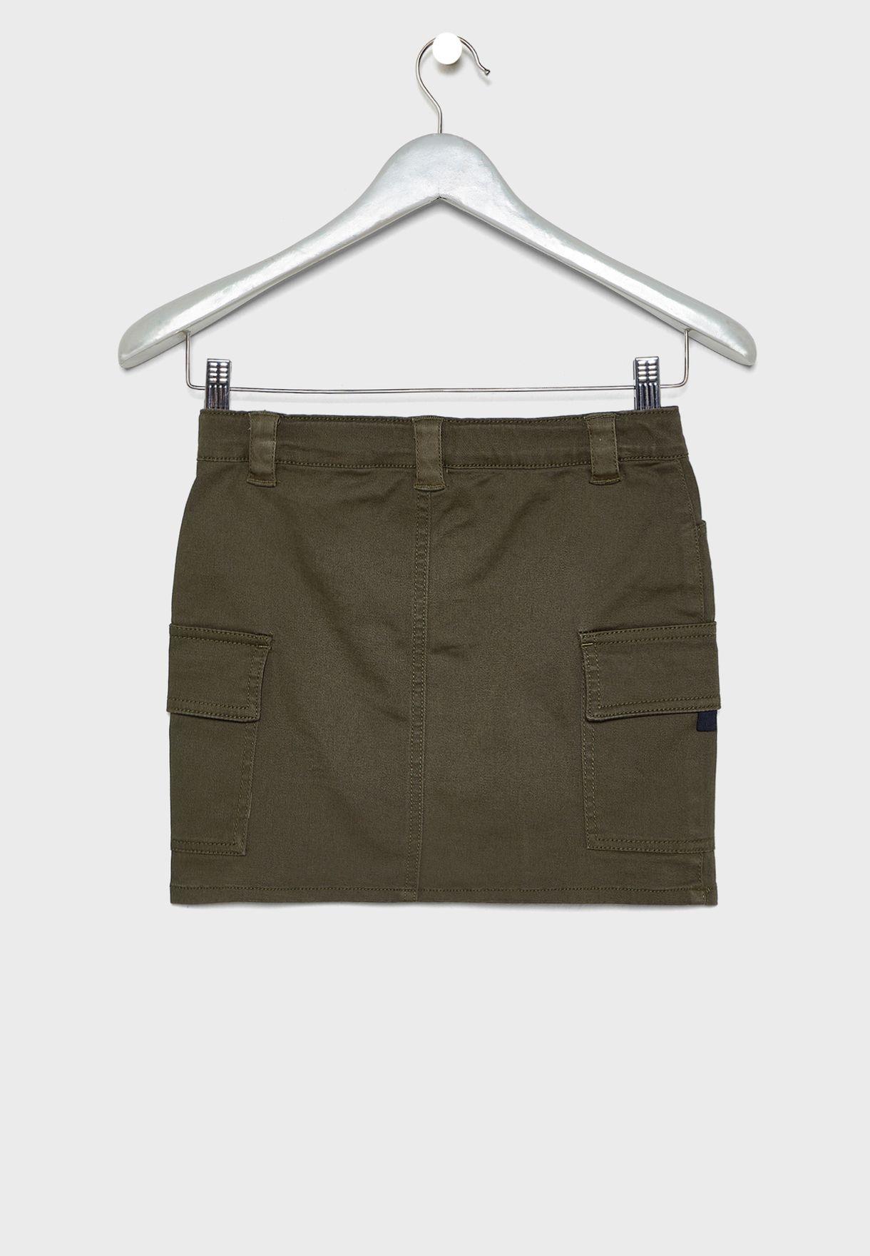 Kids Cargo Skirt