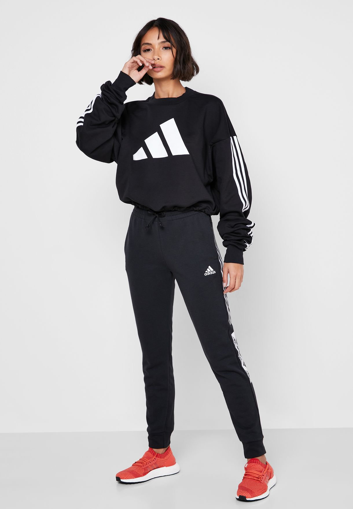 Adjust 3 Stripe Sweatshirt