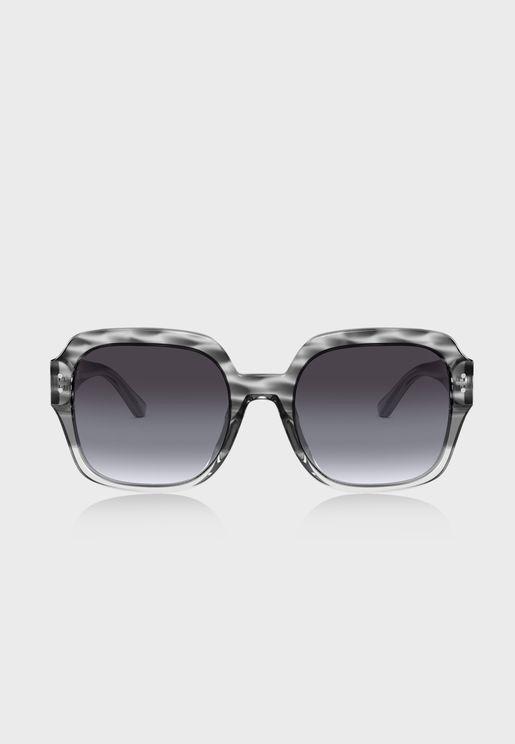 نظارة شمسية كبيرة 0TY7143U