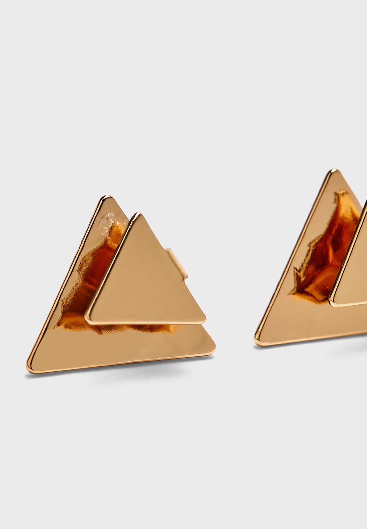قرط دبوسي مثلث