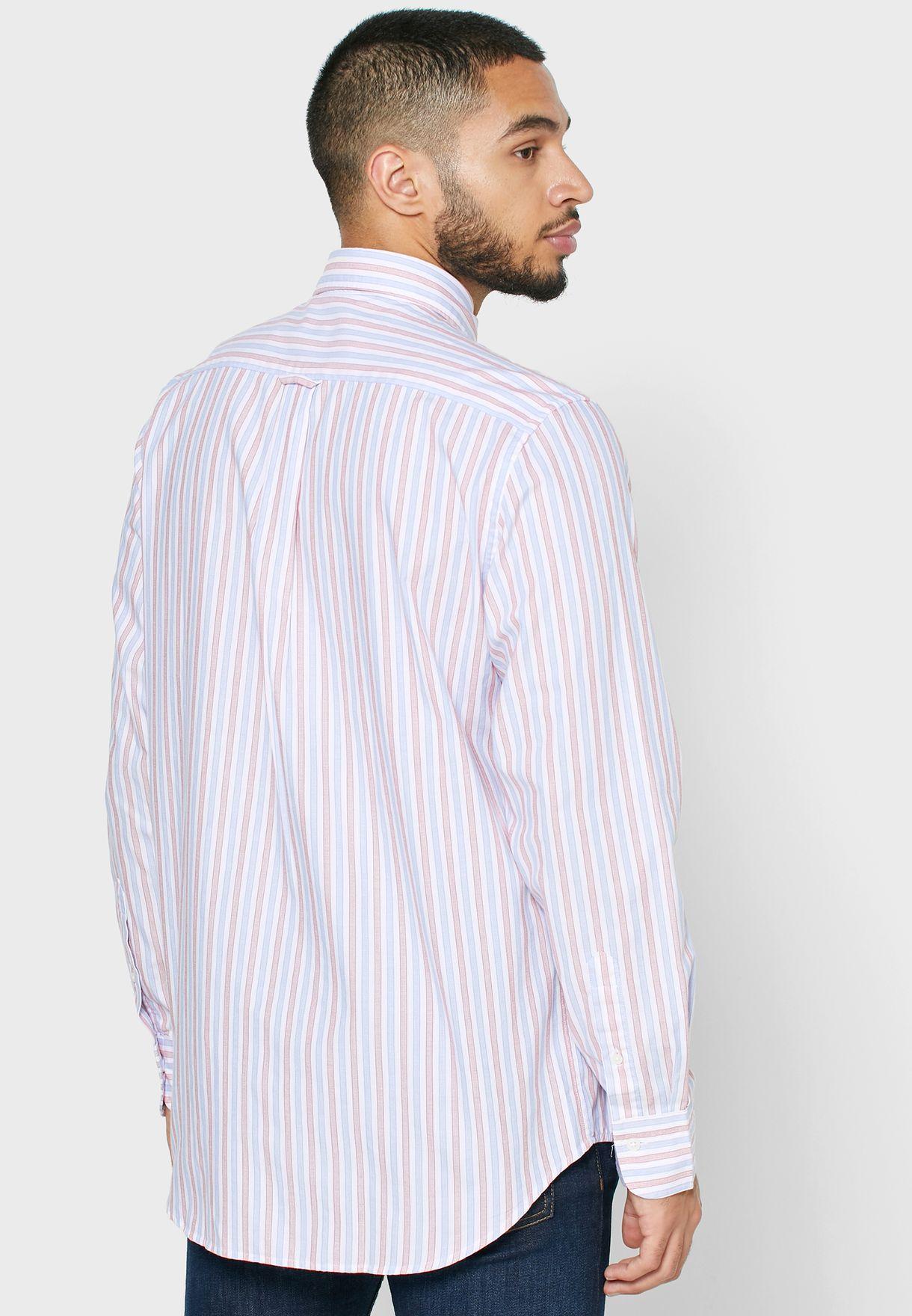 Oxford Stripe Regular Fit Shirt