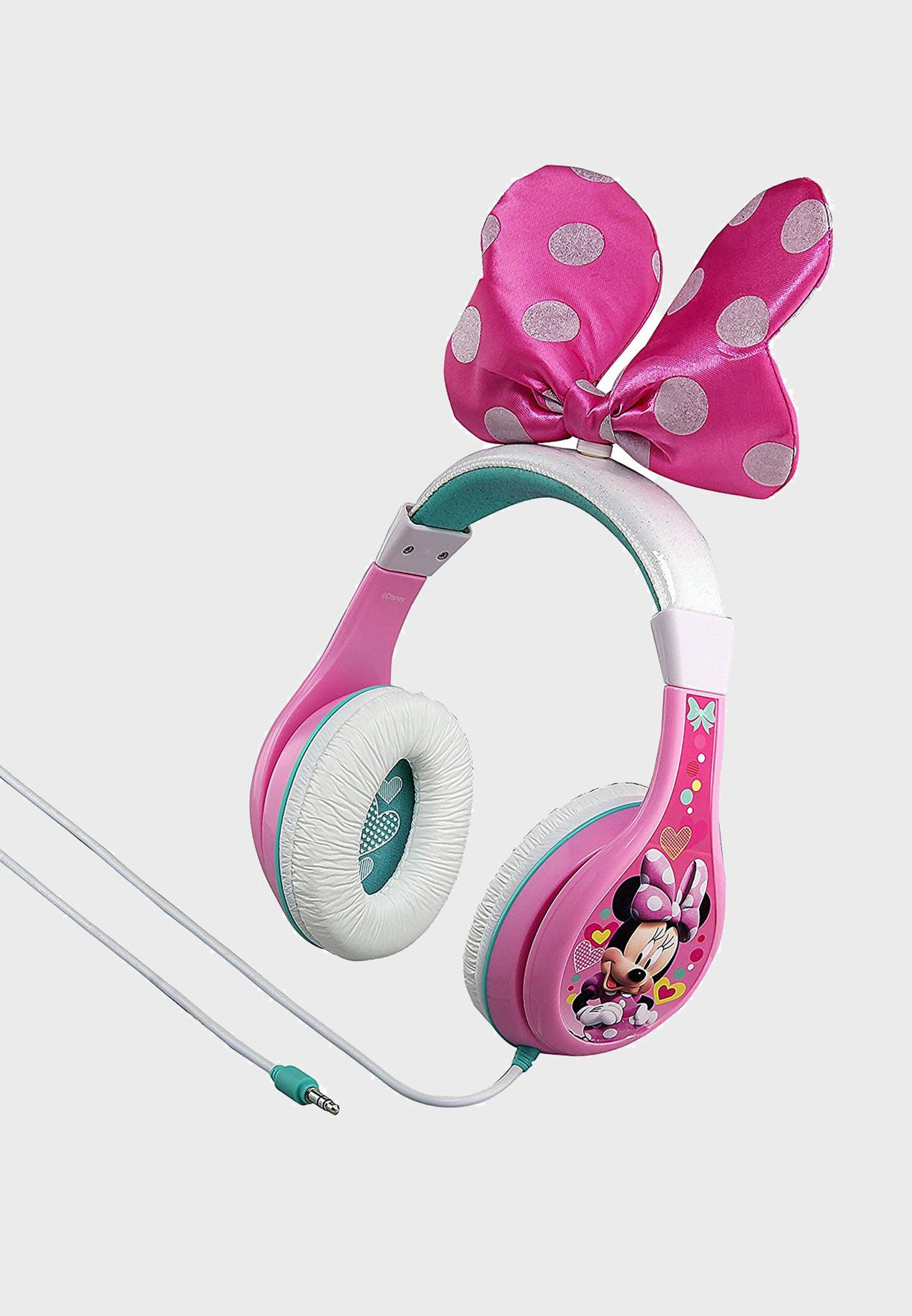 Disney Minnie Over Ear Headphones With Bow