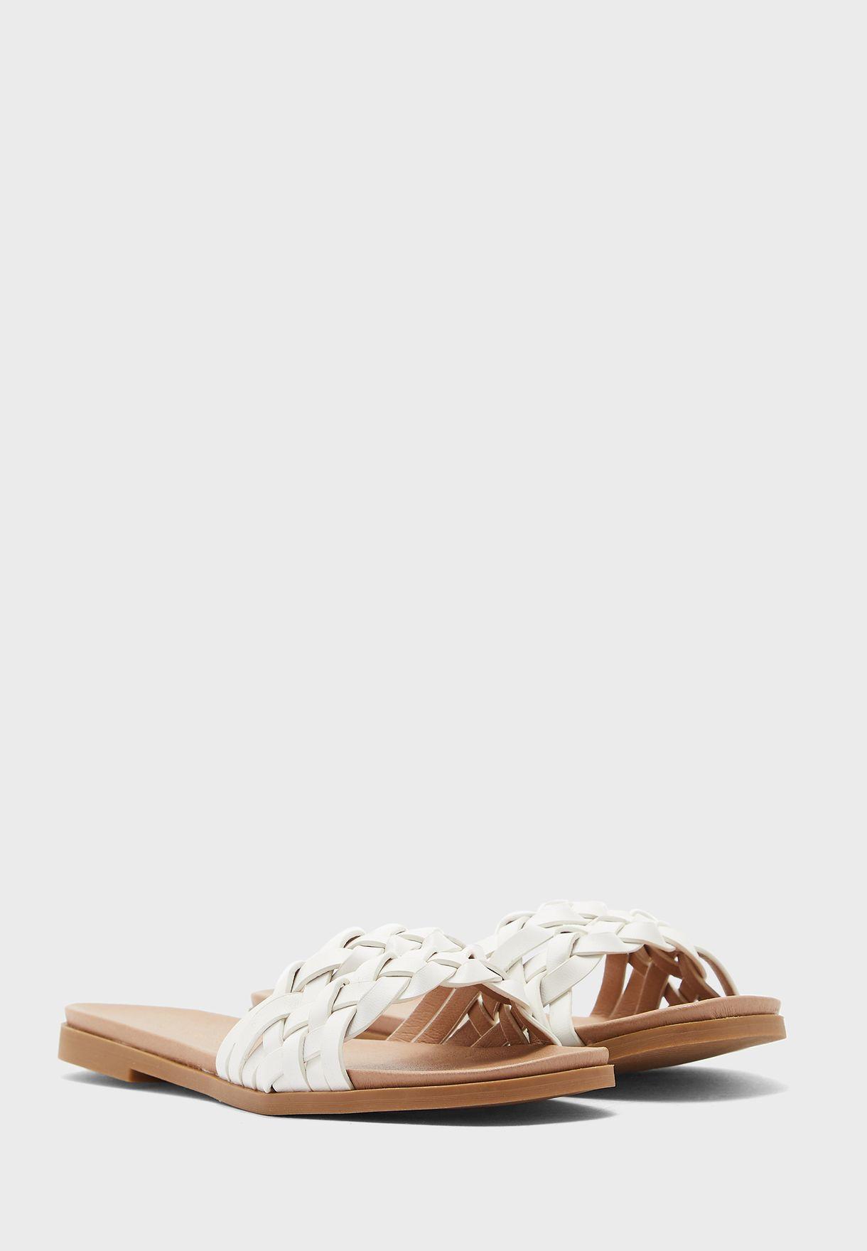 Woven Flat Sandal
