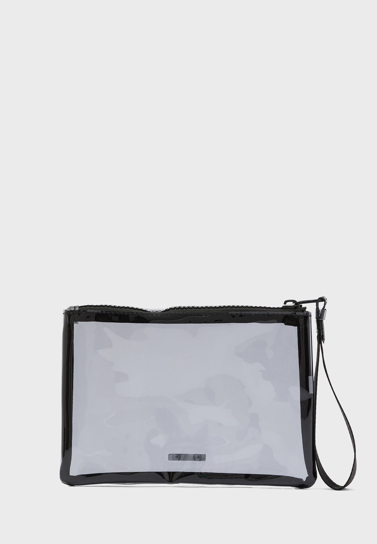 Transparent Zip Top Pouch
