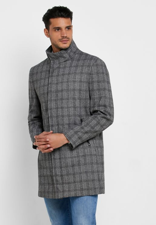 Checked Coat