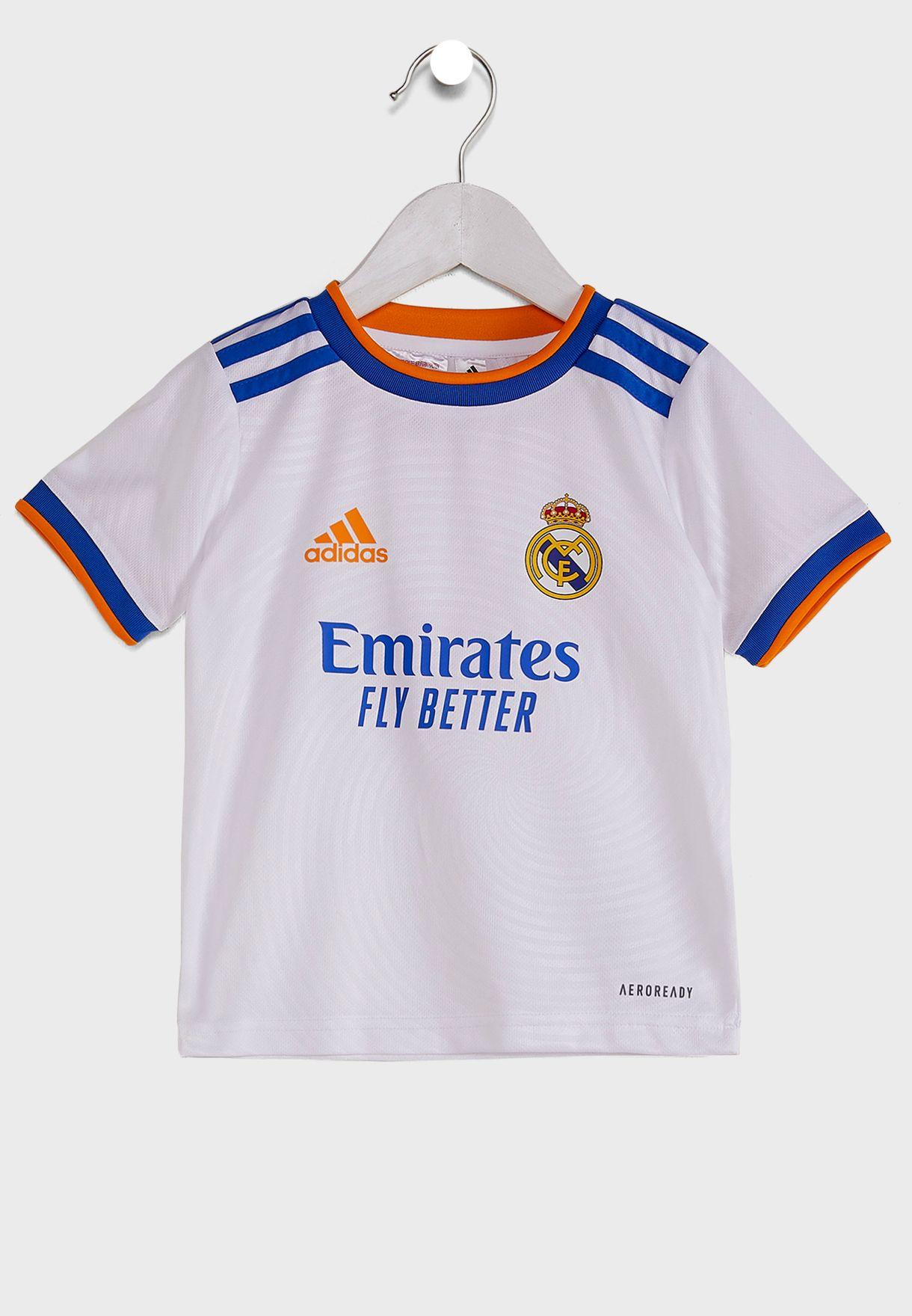 Kids Real Madrid Home Shorts