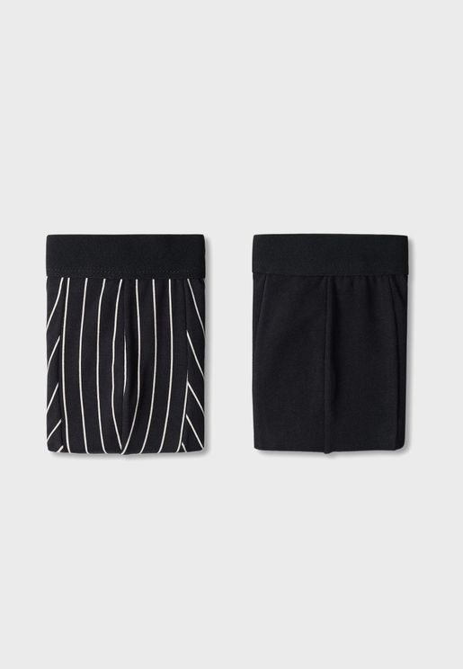 2 Pack Essential Trunks