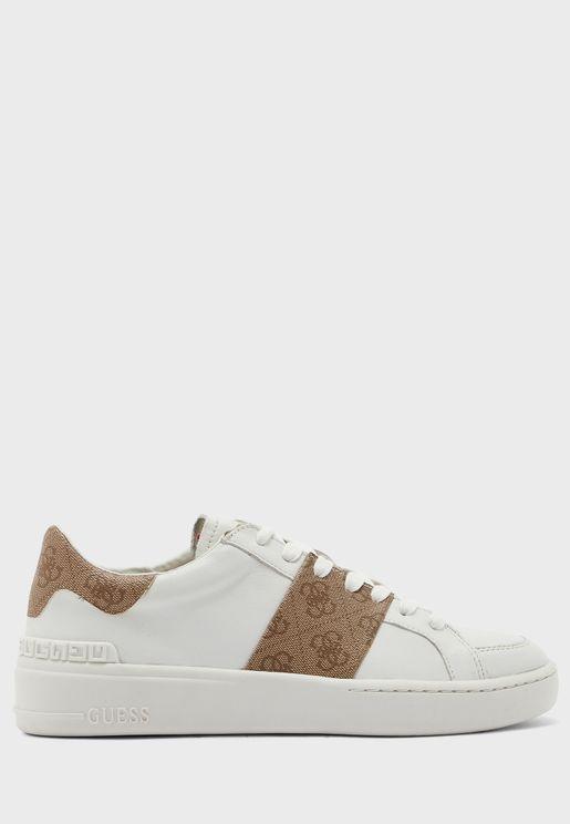 Verona Stripe Low Top Sneaker