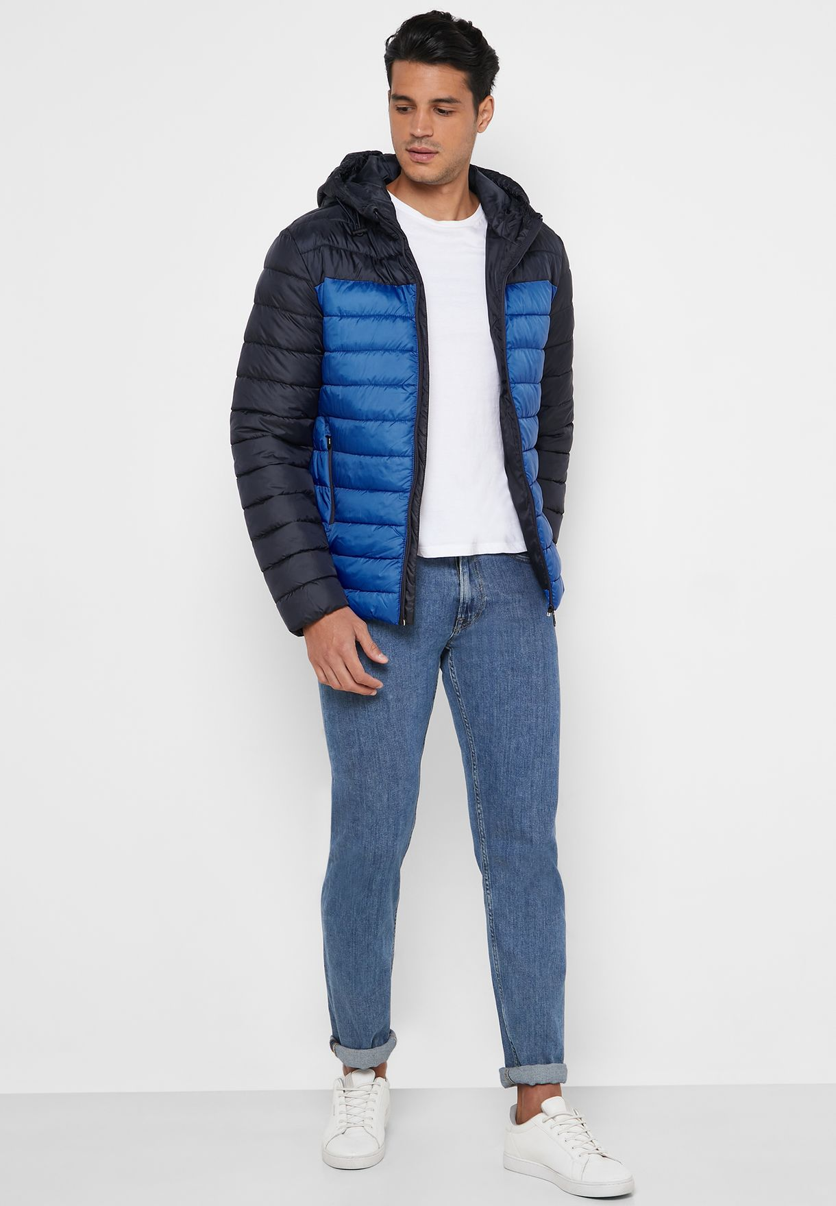 Steven Quilted Hooded Jacket