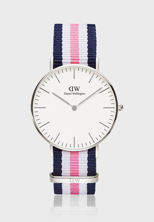 Classic Southampton White 36mm Watch