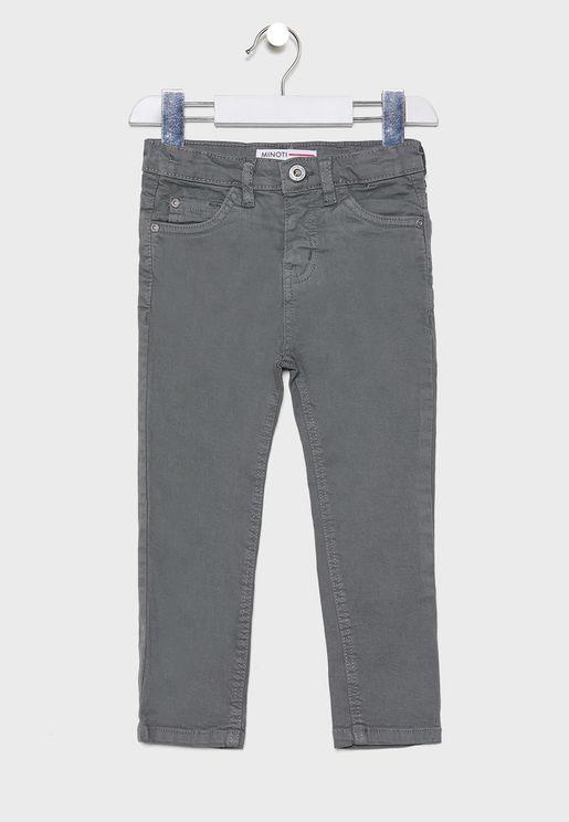 Little Slim Twill Pants