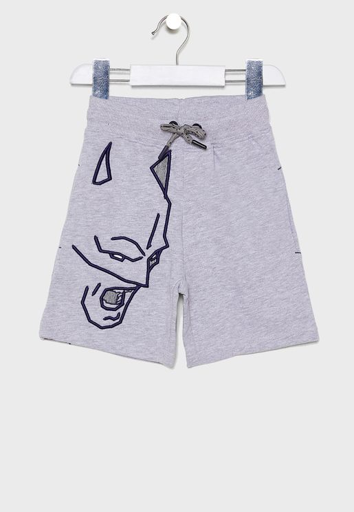 Kids Batman Sweat Shorts