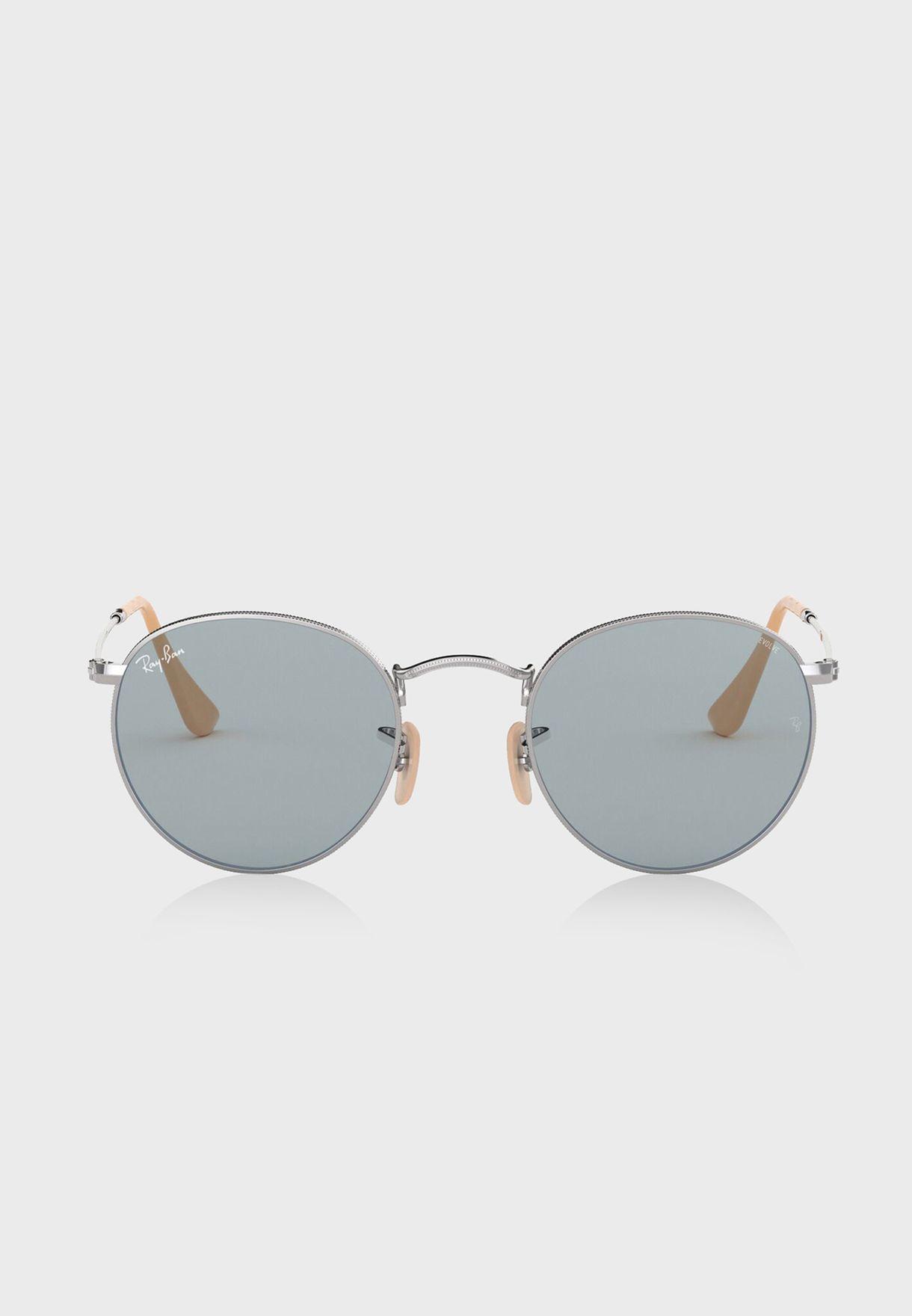 0RB3447 Round Sunglasses