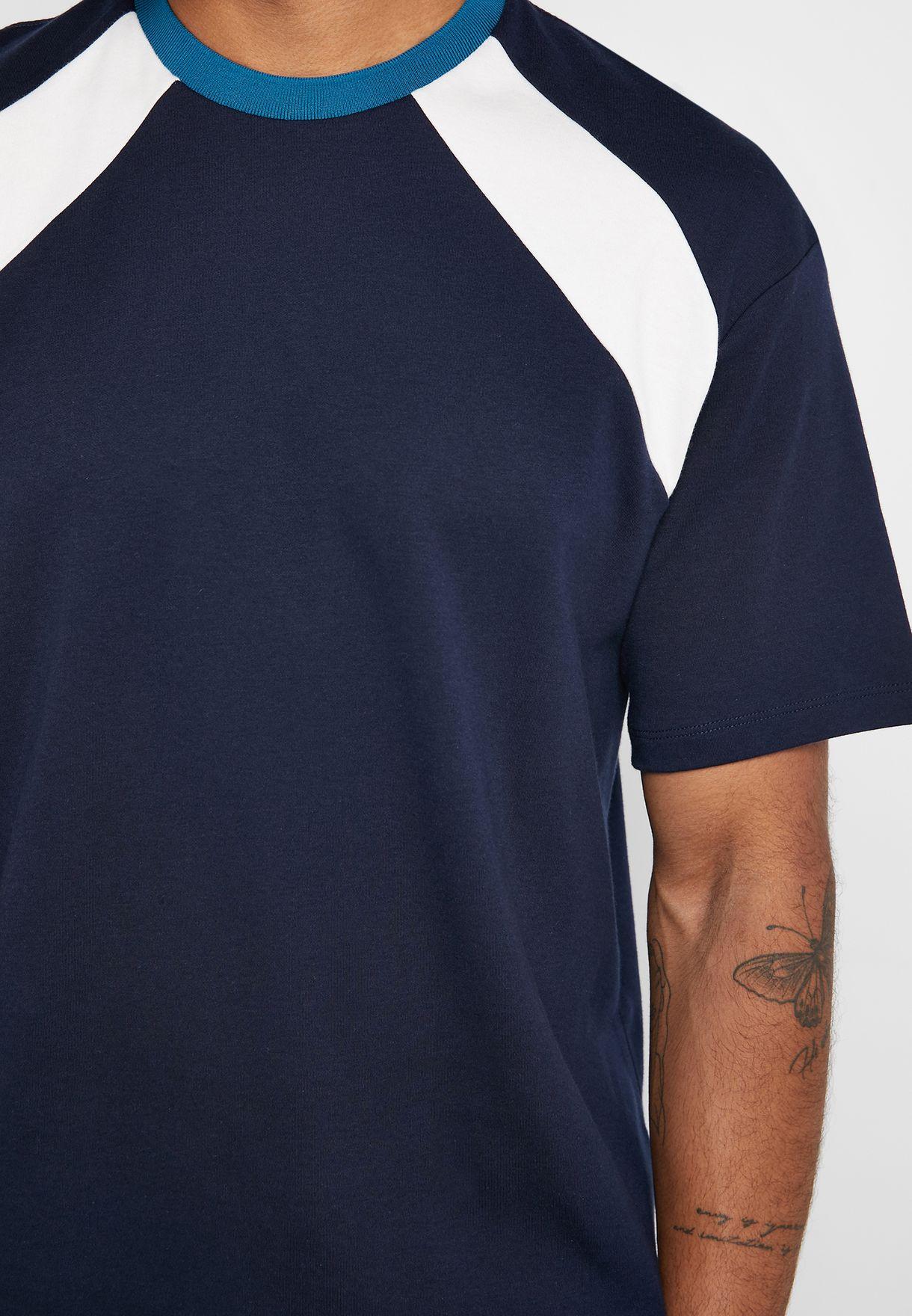 Ethan Panel Intlock Crew Neck T-Shirt