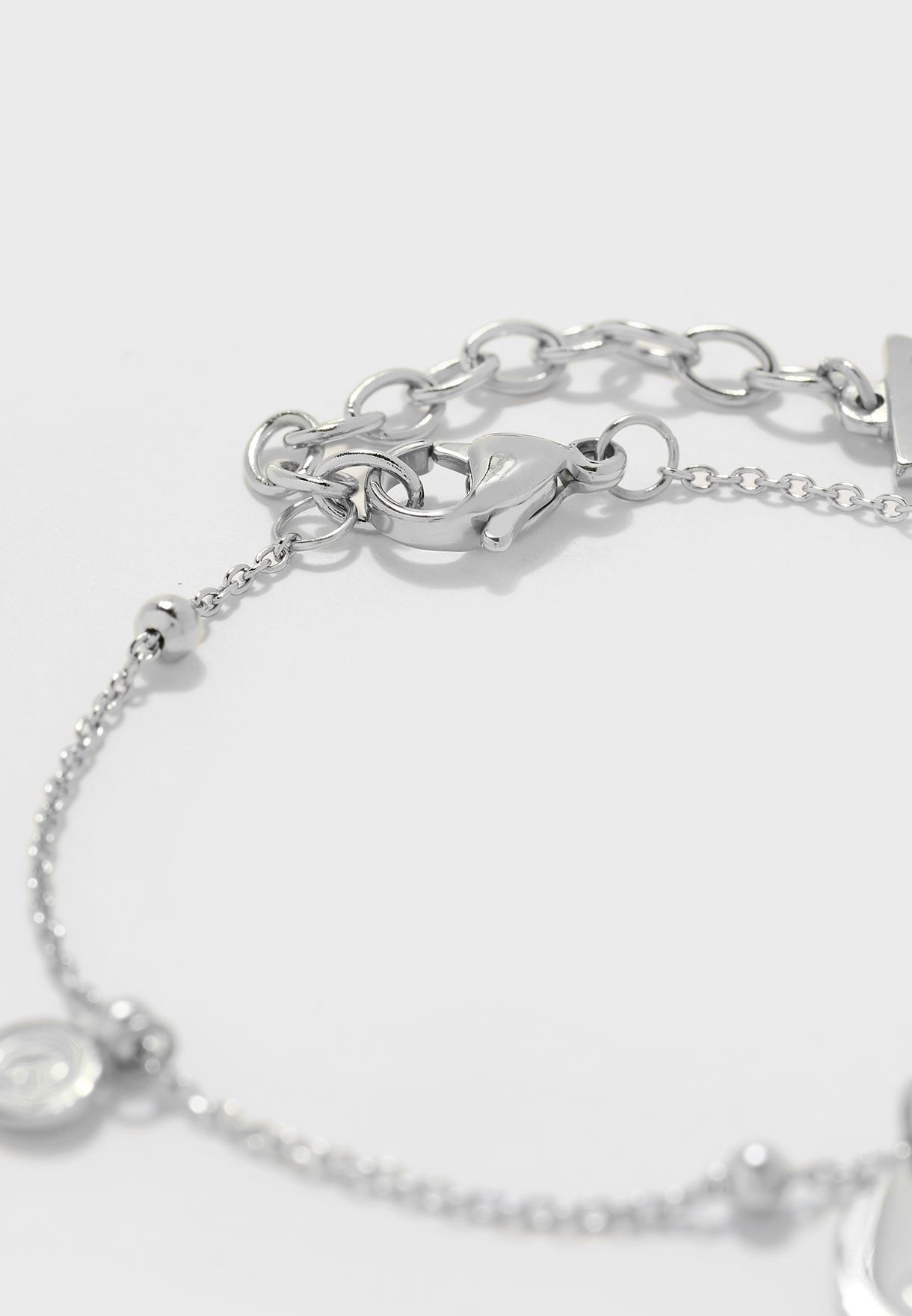 Chain And Charms Bracelet