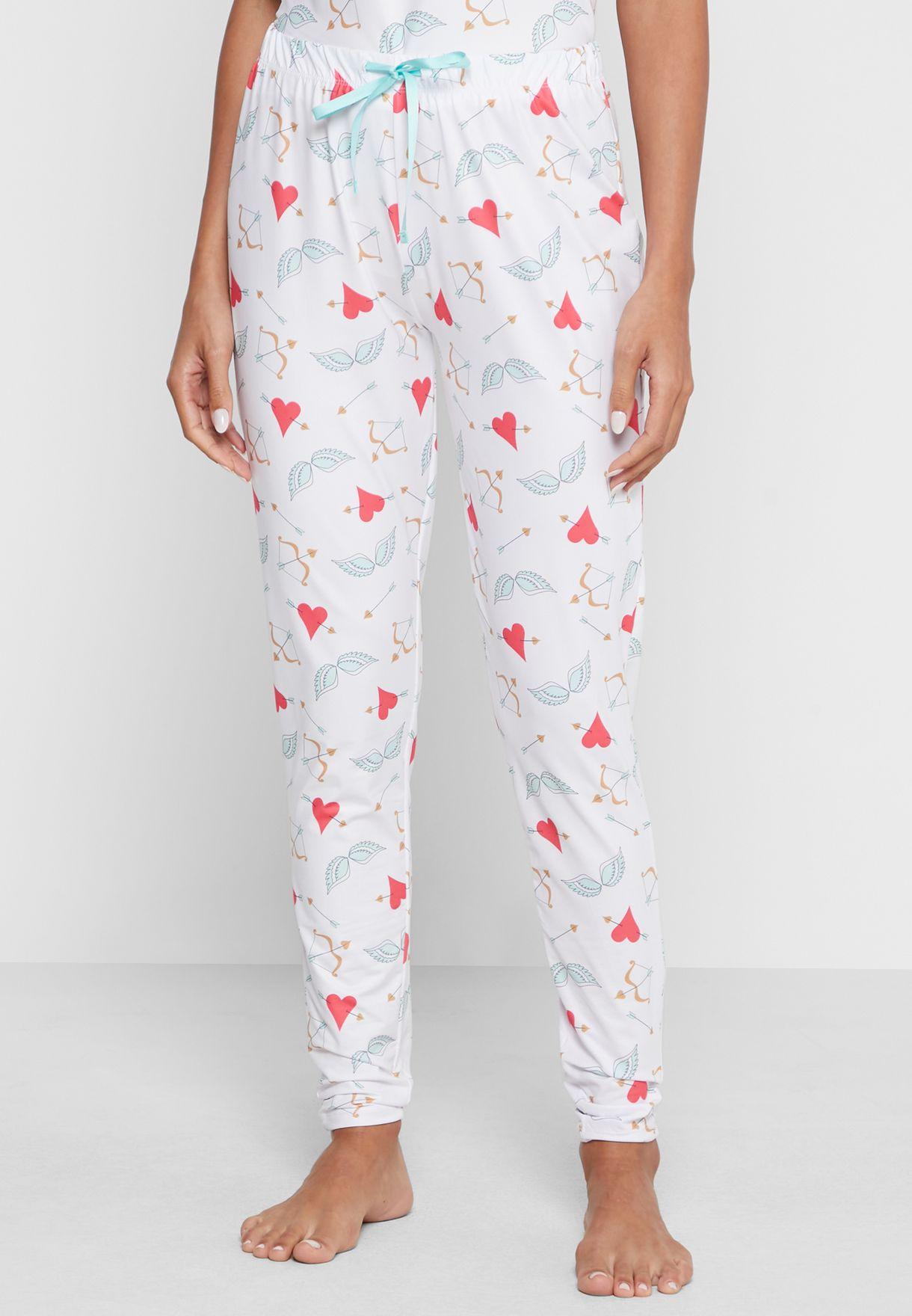 Hearts and Arrows T-Shirt & Legging Set