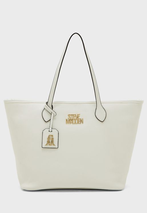 Bmalaiz Zip Closure Tote