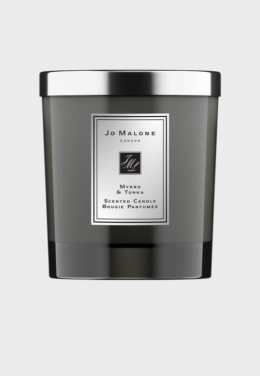 Myrrh & Tonka Intense Home Candle