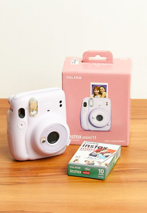 Mini 11 Instax Camera + 1 Pack Film