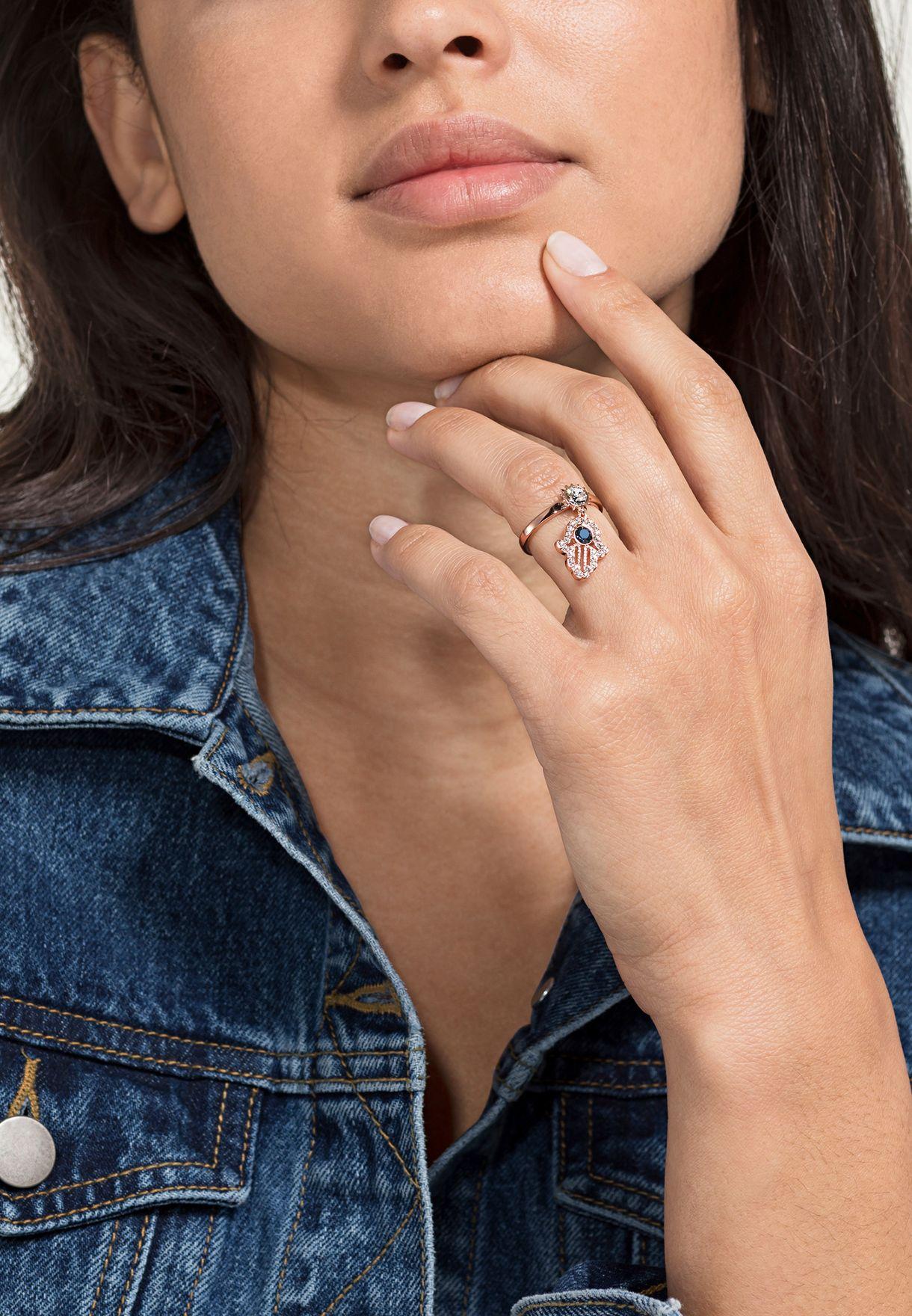 Swa Symbol Charms Ring