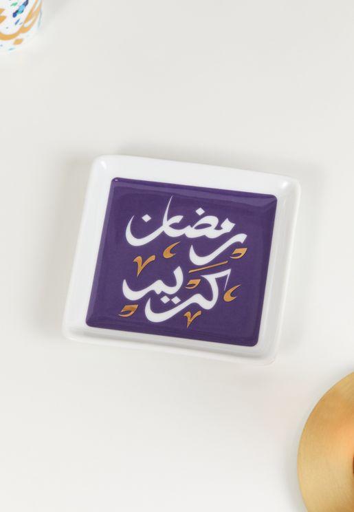 صنية بطباعة رمضان كريم