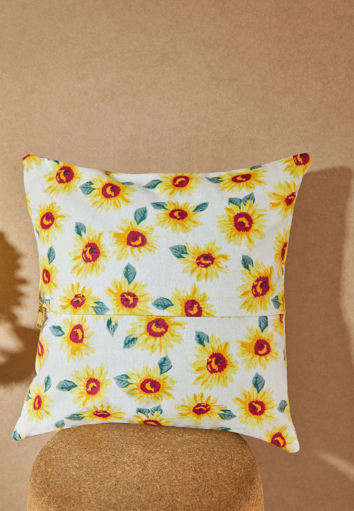 Sunflower Canvas Cushion With Insert 45*45